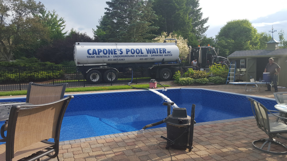 water truck to fill pool